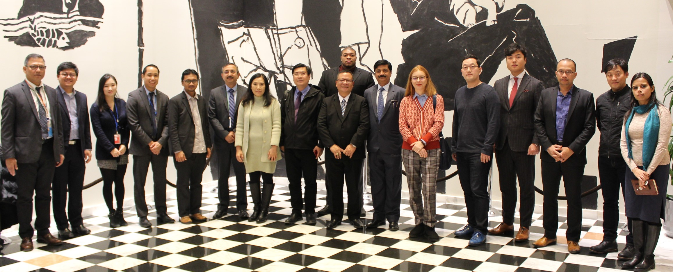 Interaction with delegation from the  Association of Universities of the Asia-Pacific