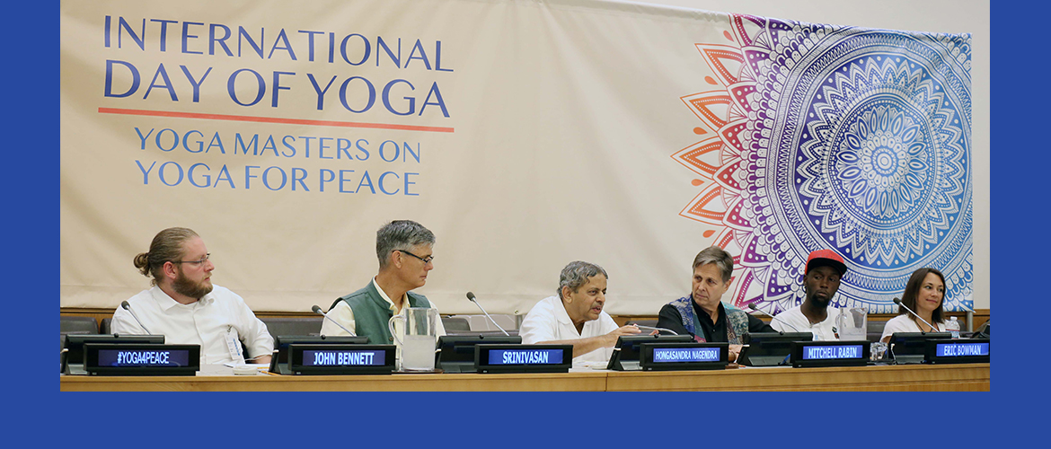 "Conversation with Yoga Masters on ""Yoga for Peace"""