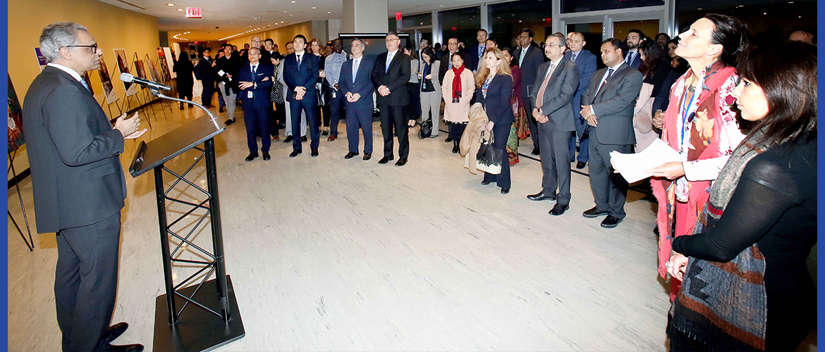 Inauguration of the Exhibition on the occasion of World Toilet Day at United Nations