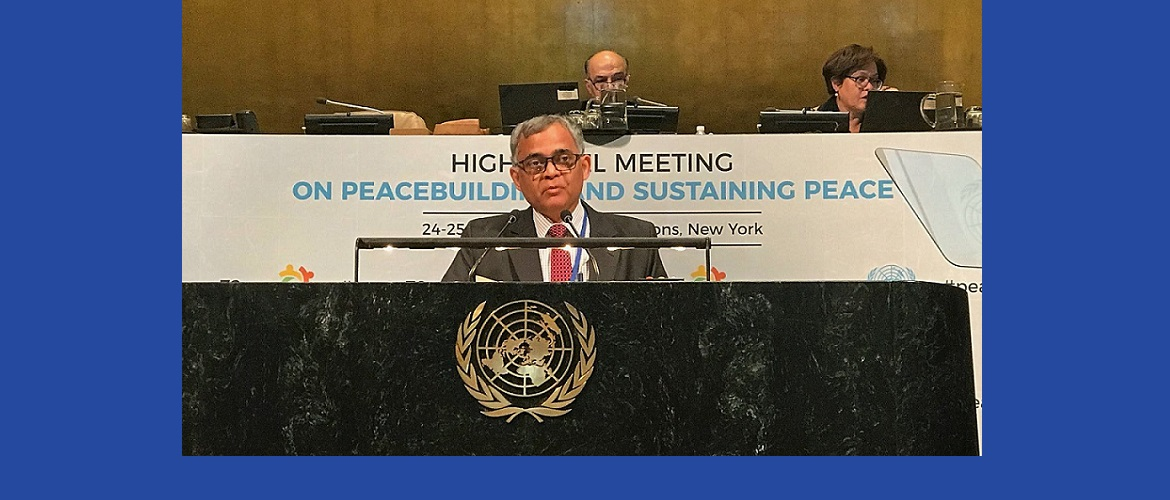 High Level Meeting on Peacebuilding and Sustaining Peace