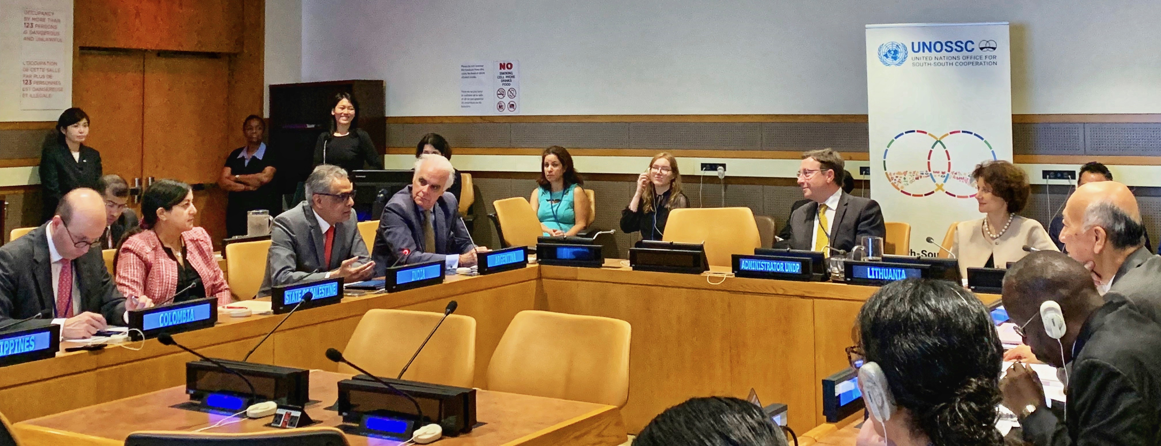 Ambassador Syed Akbaruddin, Permanent Representative at the commemoration of the <br>UN Day for South-South Cooperation