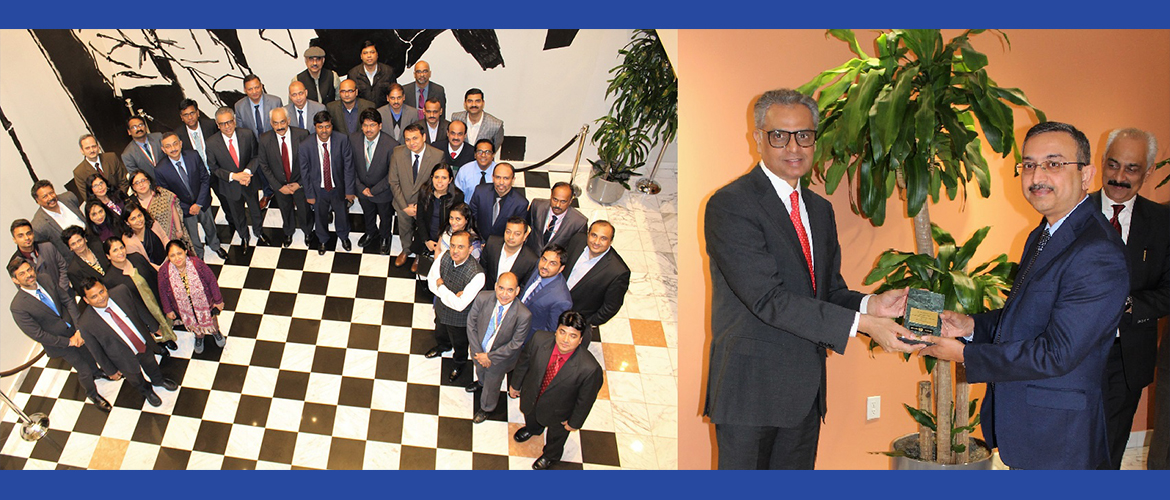 The Permanent Mission of India to the United Nations, New York bids farewell to Ambassador Tanmaya Lal on January 3, 2019 on completing a highly successful and productive tenure