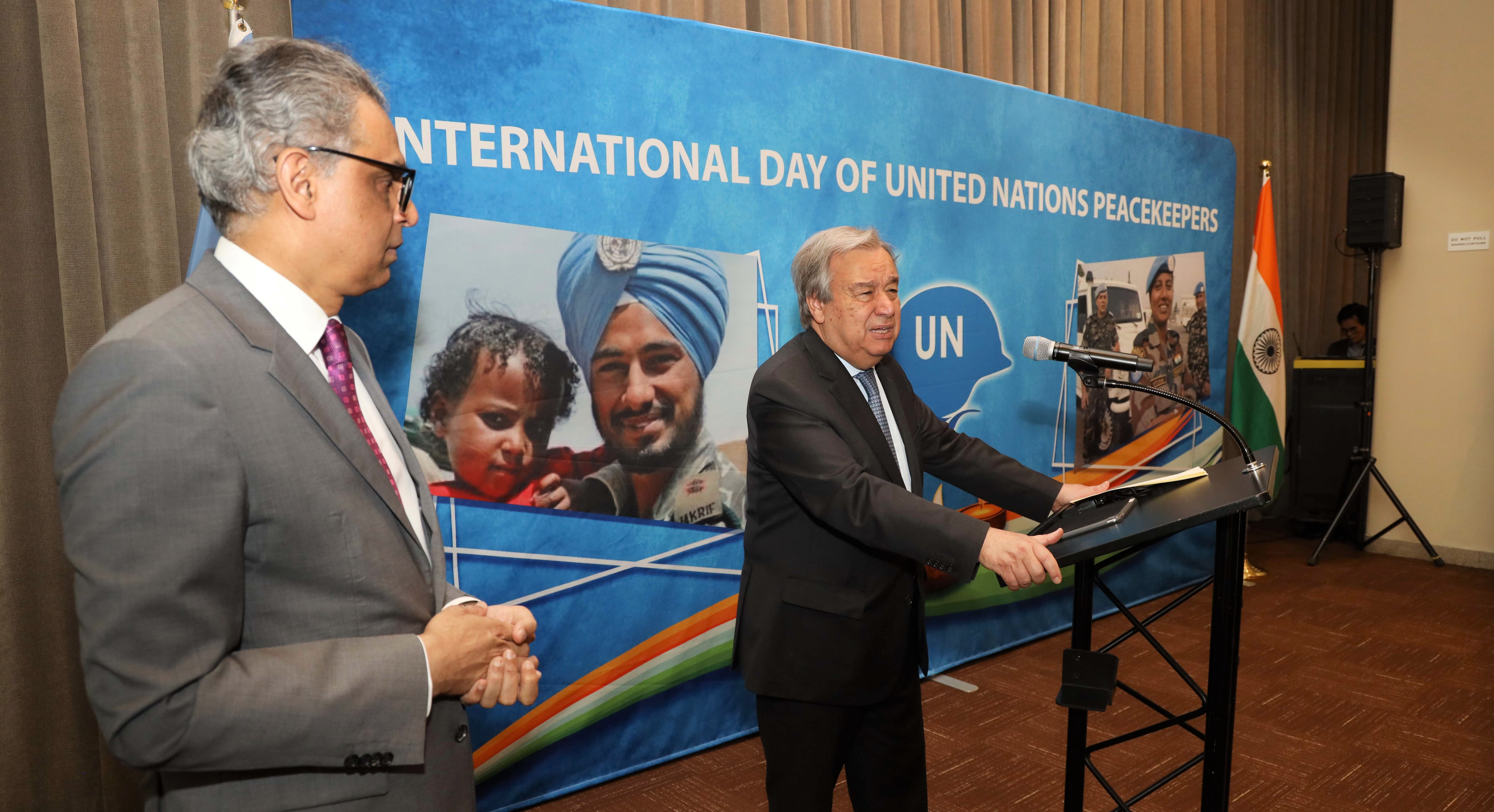 Commemorating International Day of United Nations Peacekeepers