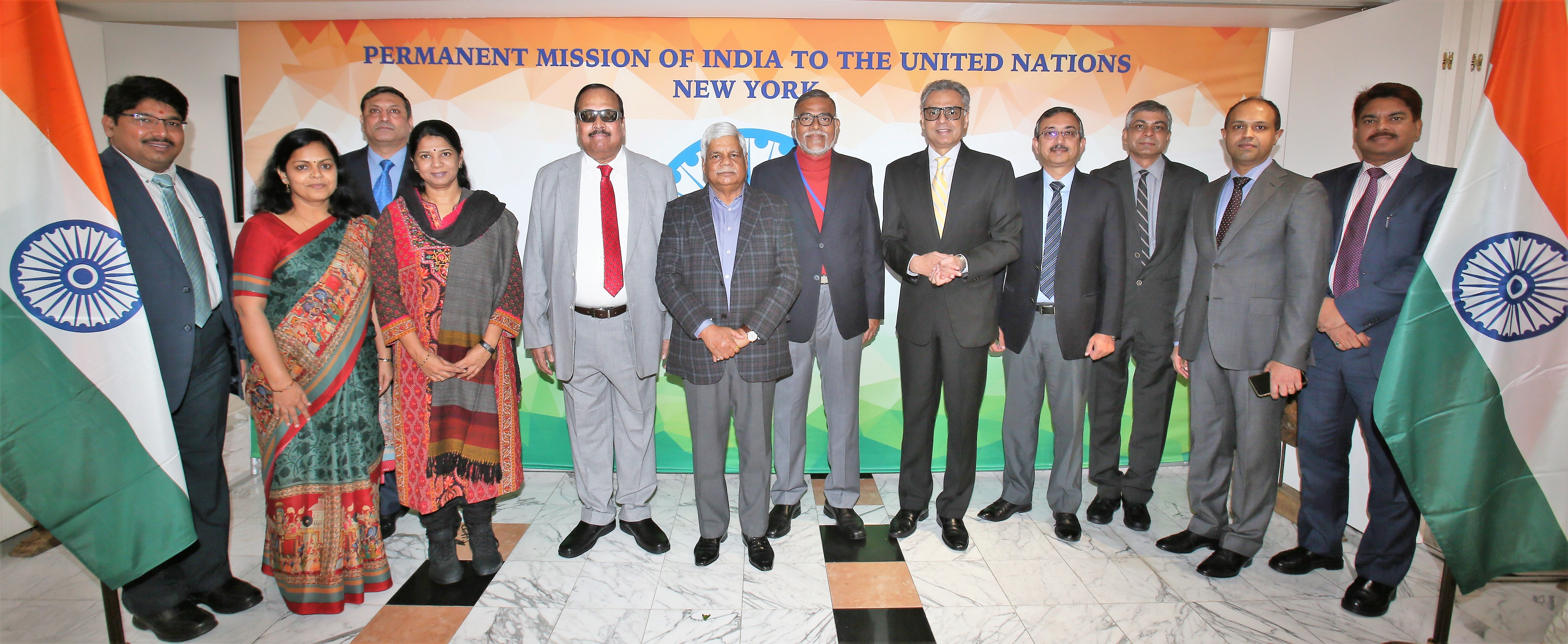 Delegation of Members of Parliament interact with Diplomats on UN issues