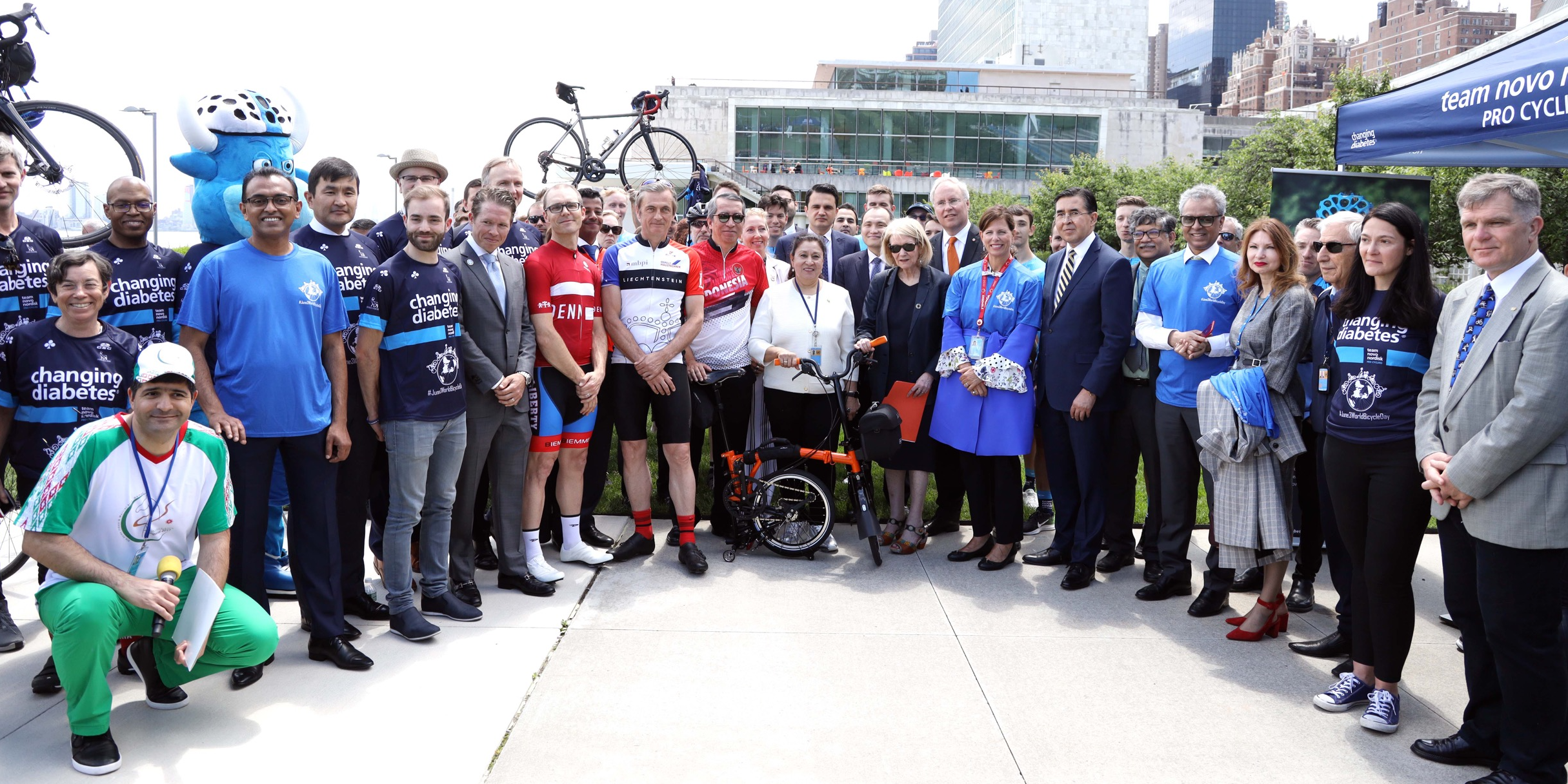 Celebrating World Bicycle Day at the United Nations