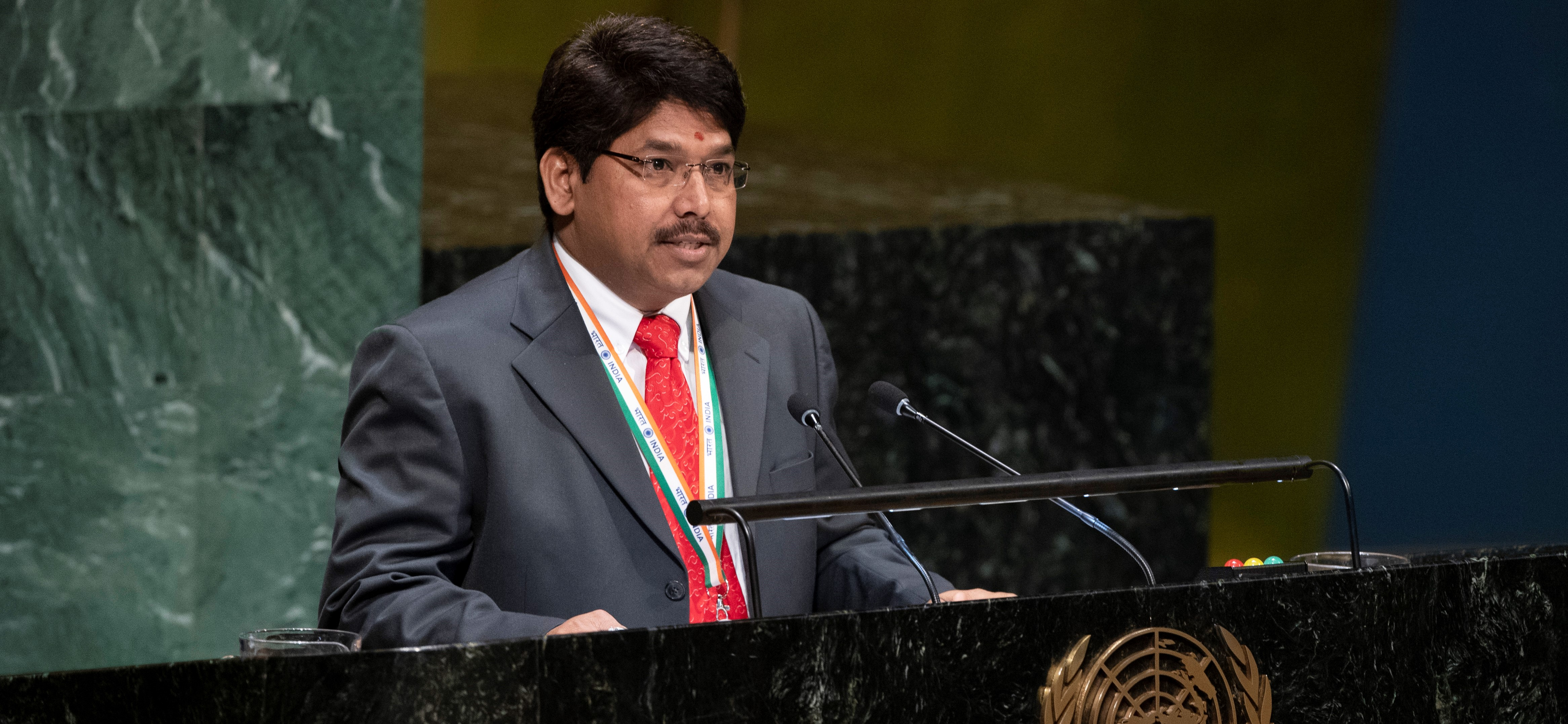 Statement by Mr. Yedla Umasankar, First Secretary/Legal Adviser at the UN General Assembly meeting <br> on Agenda Item 77 (a): Oceans and the Law of the Sea