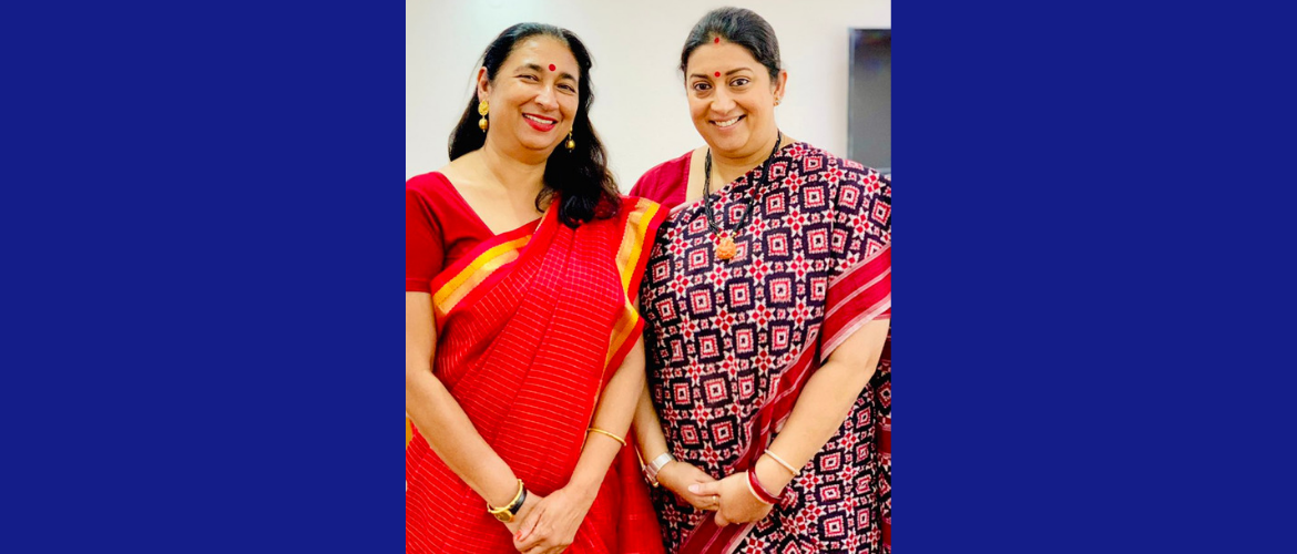 Ms. Anita Bhatia, Deputy Executive Director, UN-Women met with Smt. Smriti Zubin Irani, <br>  Minister for Women and Child Development