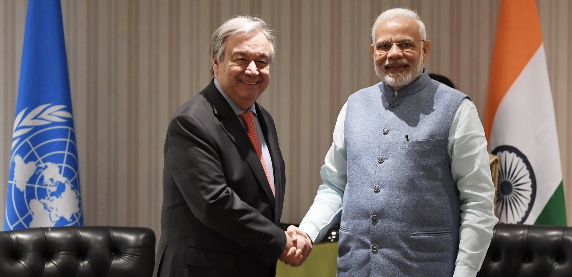 Prime Minister meets UN Secretary-General António Guterres on the sidelines of the G20 Summit in Buenos Aires